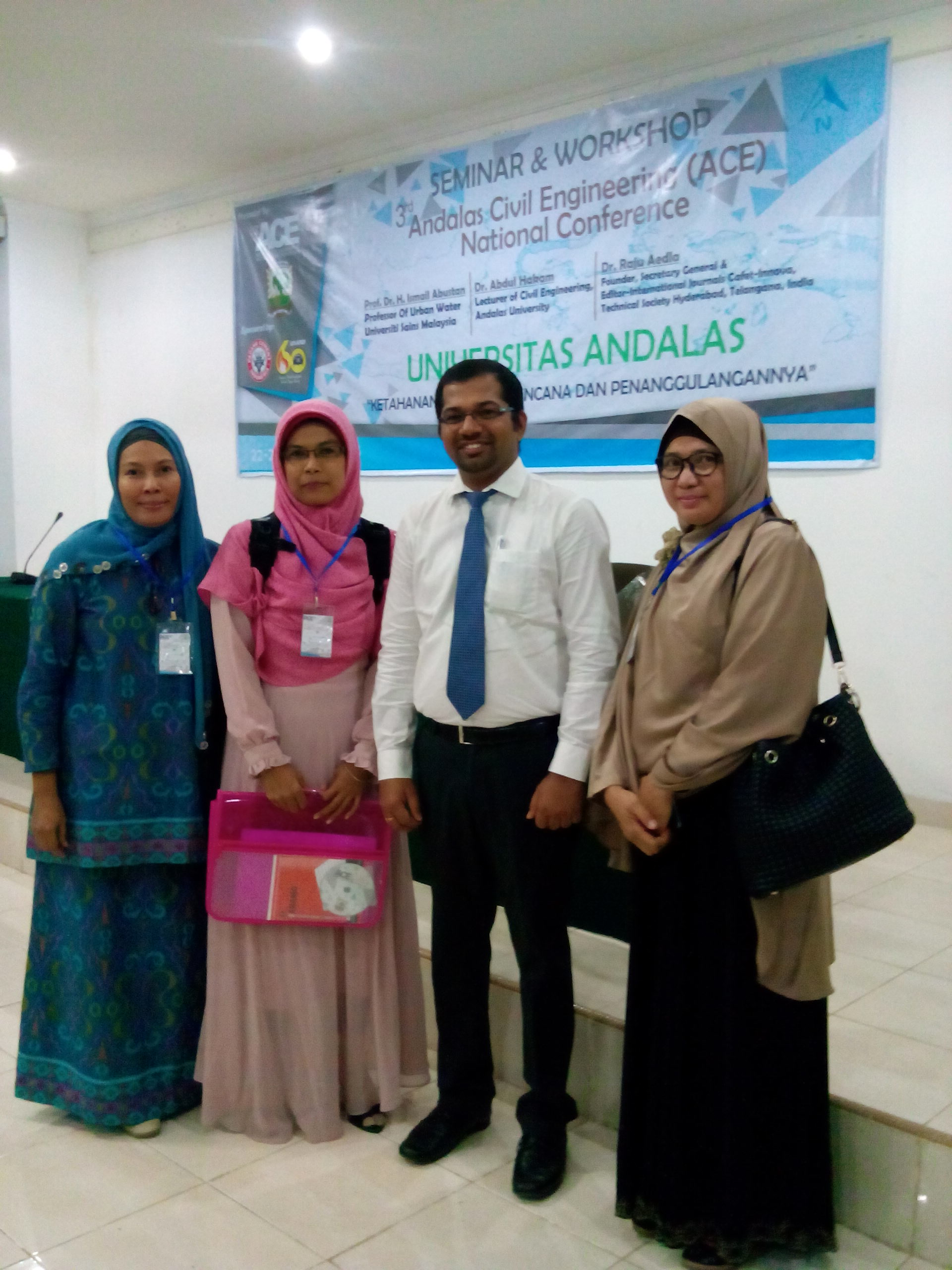 3rd Andalas Civil Engineering (ACE) National Conference