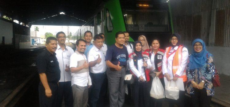 Dosen Teknik Sipil UNIDHA, UBH, dan UNAND Ikut Serta Dalam Uji Coba Kereta Api Baru Padang-BIM